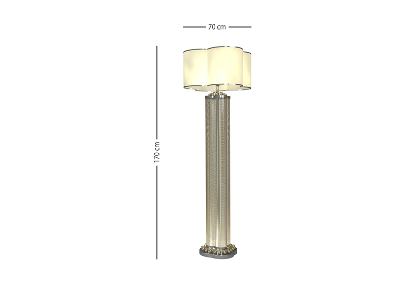 Happy clover floor lamp mari ianiq treniq 4