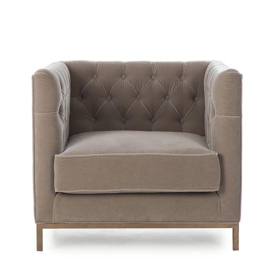 Vinci tufted occasional chair mohair  sonder living treniq 1 1526883073456