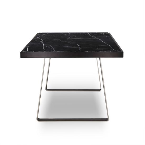 Jopling dining table black marble  sonder living treniq 1 1526905253934