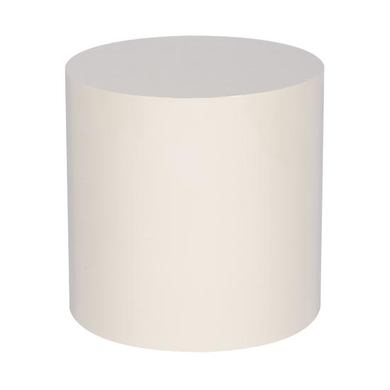 Morgan accent table round snow lacquer  sonder living treniq 1 1526905317443