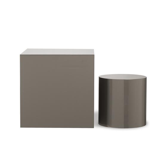 Morgan accent table square grey lacquer  sonder living treniq 1 1526906239445