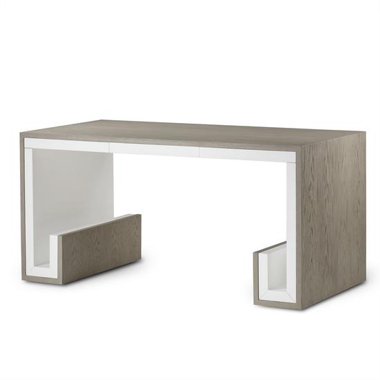 Oak 3 drawer desk  sonder living treniq 1 1526906345888