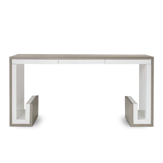 Oak 3 drawer desk  sonder living treniq 1 1526906345896