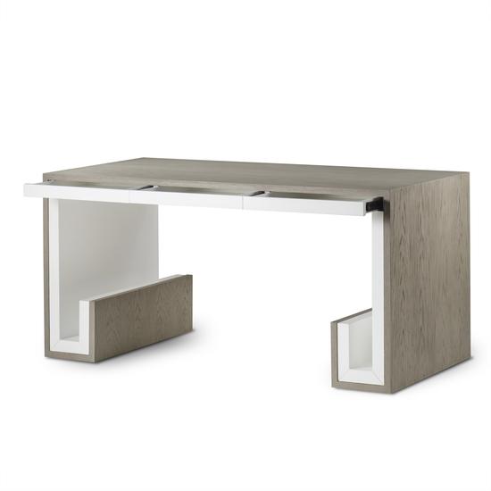 Oak 3 drawer desk  sonder living treniq 1 1526906345903
