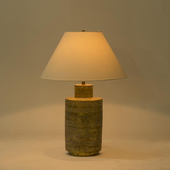 Ceramic fez lamp gold sonder living treniq 1 1526906929115