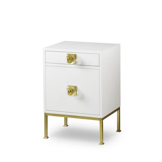Formal nightstand white lacquer sonder living treniq 1 1526907068774
