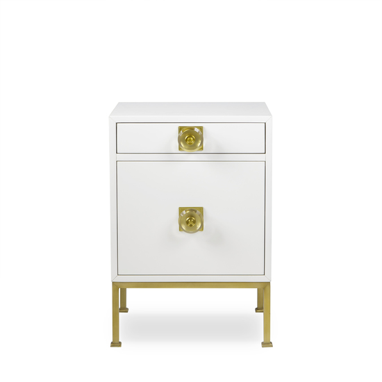 Formal nightstand white lacquer sonder living treniq 1 1526907068803