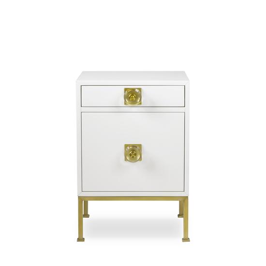 Formal nightstand white lacquer sonder living treniq 1 1526907068811
