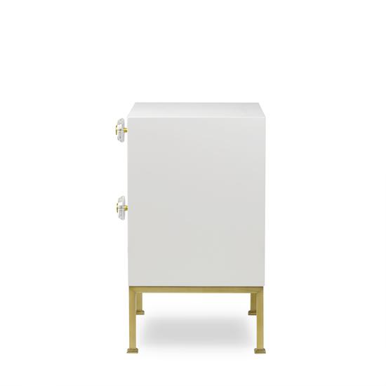 Formal nightstand white lacquer sonder living treniq 1 1526907080453
