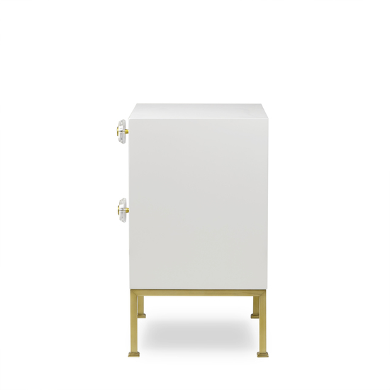 Formal nightstand white lacquer sonder living treniq 1 1526907080245