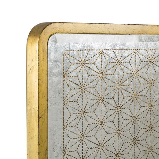 Gilded star mirror bed us king sonder living treniq 1 1526907657603