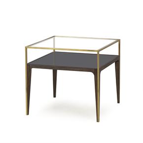 Silhouette-Side-Table-Smoked-Glass_Sonder-Living_Treniq_0