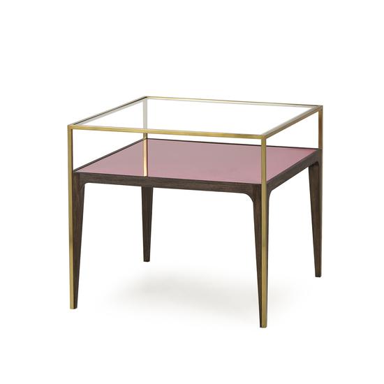 Rubylite side table pink glass sonder living treniq 1 1526908553834