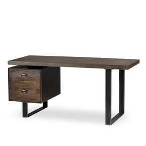 Charles-Desk-Single-Ped-Concrete-_Sonder-Living_Treniq_0