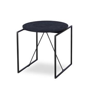 Georgina-Side-Table-Black-Marble-_Sonder-Living_Treniq_0