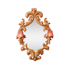 French mirror frame with wall lights hayat 1870 treniq 1