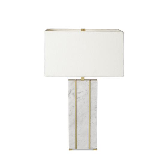 Marble table lamp rectangular by nellcote sonder living treniq 1 1526978663497