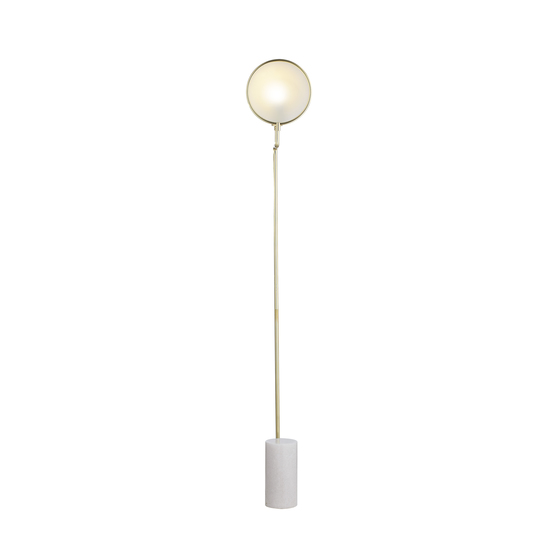 Eclipse floor lamp brass by nellcote sonder living treniq 1 1526978682525