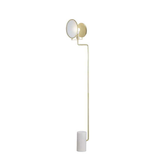 Eclipse floor lamp brass by nellcote sonder living treniq 1 1526978682514