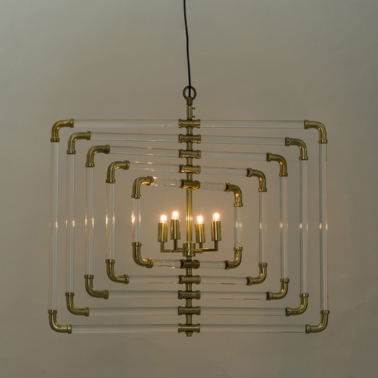 Spiral acrylic stream 5 layer brass by nellcote sonder living treniq 1 1526979495472
