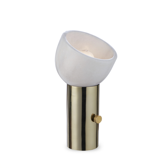 One scoop lamp brass by nellcote sonder living treniq 1 1526979535130