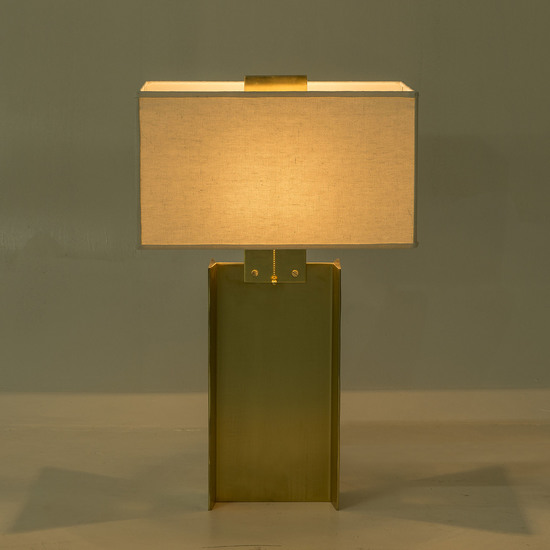 I beam lamp large brass by nellcote sonder living treniq 1 1526979632597