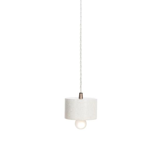 Marble plate pendant white by nellcote sonder living treniq 1 1526979781891