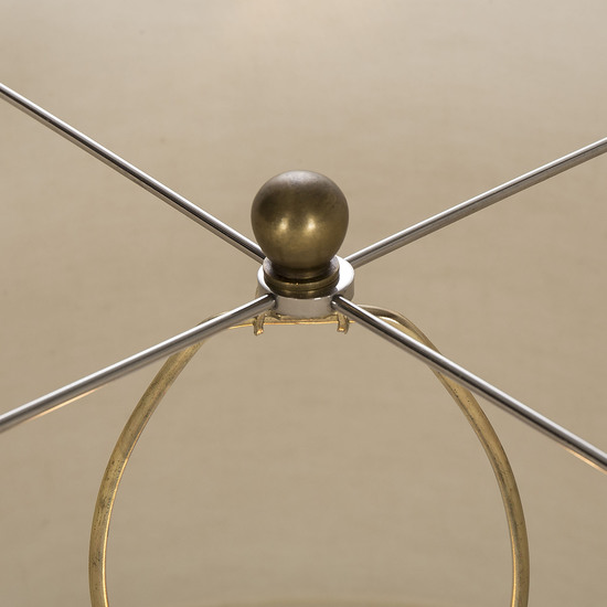 Shagreen lamp grey white shade by nellcote sonder living treniq 1 1526980244095