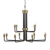 Le marais chandelier 12 light black by nellcote sonder living treniq 1 1526980427133
