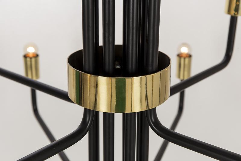 Le marais chandelier 12 light black by nellcote sonder living treniq 1 1526980427118