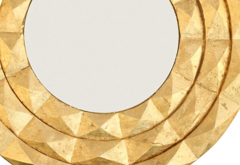 Geometric sun mirror kohr treniq 3
