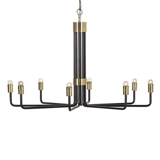 Le marais chandelier 8 light black by nellcote sonder living treniq 1 1526981332623
