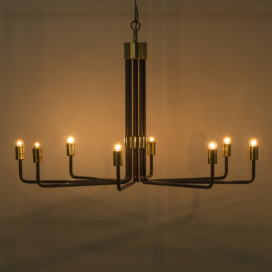 Le marais chandelier 8 light black by nellcote sonder living treniq 1 1526981332655