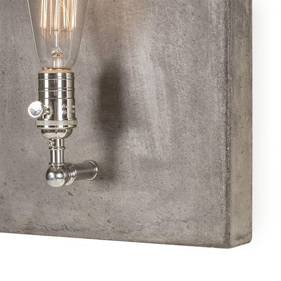 Factory sconce single nickel by nellcote sonder living treniq 1 1526981553695