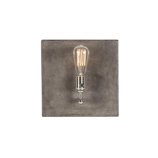 Factory sconce single nickel by nellcote sonder living treniq 1 1526981557559
