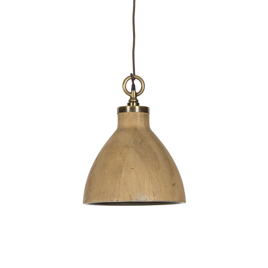 Natural oak pendant medium by nellcote sonder living treniq 1 1526981652993