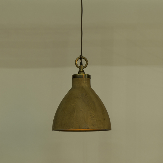 Natural oak pendant medium by nellcote sonder living treniq 1 1526981653008