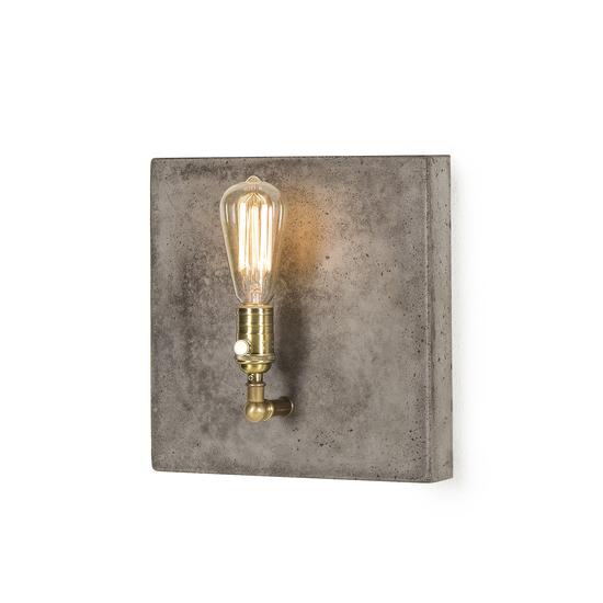 Factory sconce single aged brass by nellcote sonder living treniq 1 1526981701048
