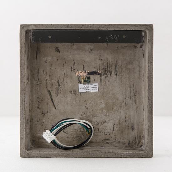 Factory sconce single aged brass by nellcote sonder living treniq 1 1526981701054