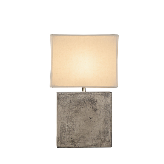 Untitled cube lamp small white shade by nellcote sonder living treniq 1 1526981745036