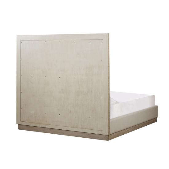 Raffles king bed 6 panels platform norman ivory  sonder living treniq 1 1526987054139