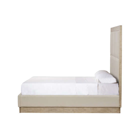 Raffles king bed 6 panels platform norman ivory  sonder living treniq 1 1526987054188