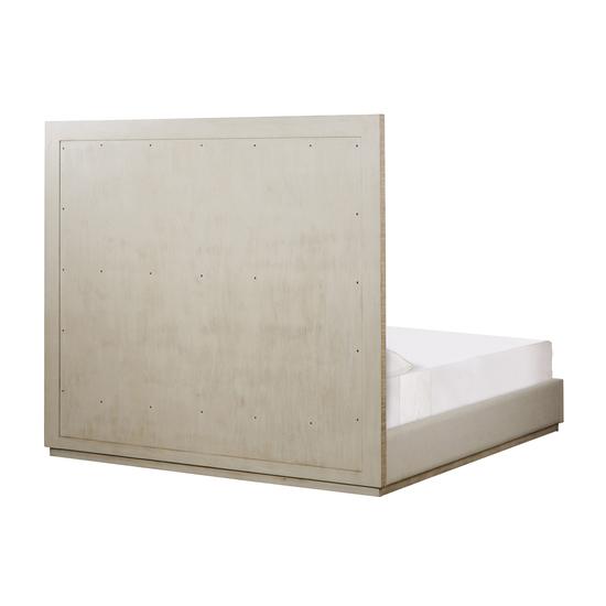 Raffles queen bed 6 panels norman ivory  sonder living treniq 1 1526987376650
