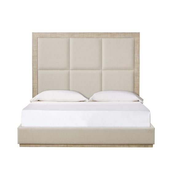 Raffles queen bed 6 panels norman ivory  sonder living treniq 1 1526987376709