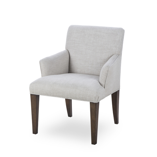Aaron arm chair textured linen  sonder living treniq 1 1526990108926