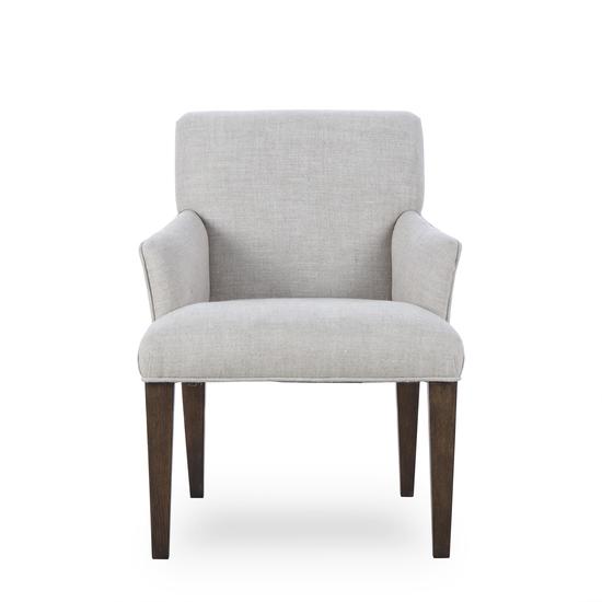Aaron arm chair textured linen  sonder living treniq 1 1526990108942