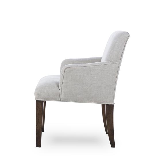 Aaron arm chair textured linen  sonder living treniq 1 1526990108978