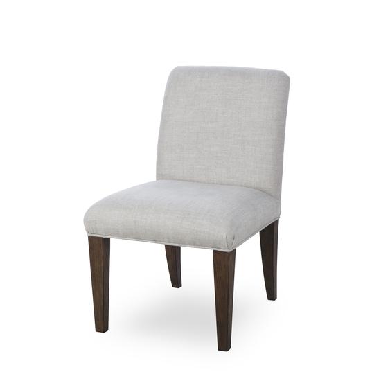 Aaron side chair textured linen  sonder living treniq 1 1526990152717