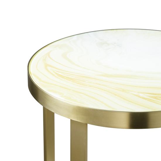 Rex side table round  sonder living treniq 1 1526991962566