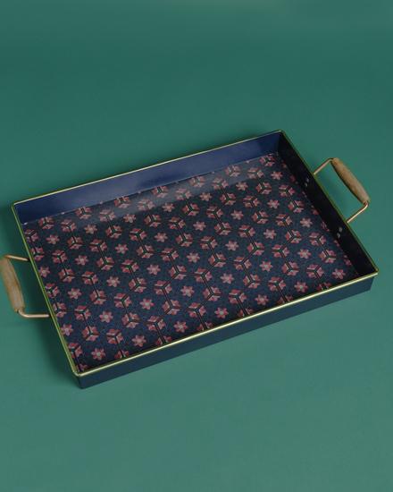 Tthe chaandini rectangular tray with wooden handles living with elan treniq 1 1527155862974
